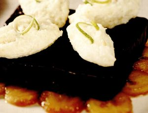 Prăjitură glazurată din panettone