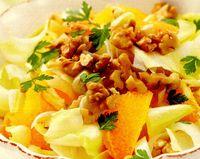 Salată de andive cu portocala si otet balsamic