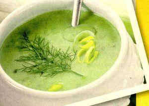 Supa crema din praz