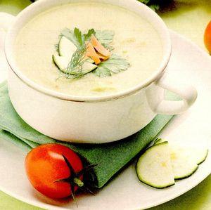 Retete de post: Supa-crema de dovlecei