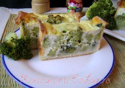 Budinca de branza si broccoli