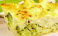 Conopida, broccoli si paste la cuptor