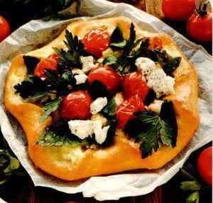 Pizza floare
