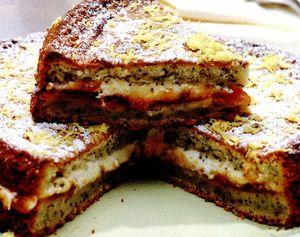 Prăjitură cu lămâie si mac
