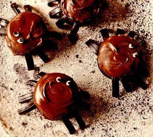 Prajitura paianjen de ciocolata