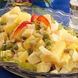 Salată cu napi şi cartofi