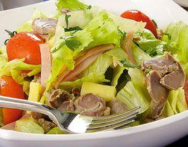 Salată cu pipote