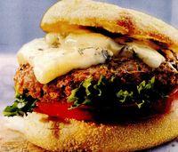 Burger cu gorgonzola