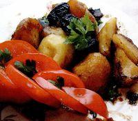 Retete de post: Cartofi cu prune uscate