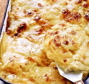 Garnituri: Cartofi gratinaţi