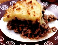 Placinta Pastorului (Shepherd's pie)