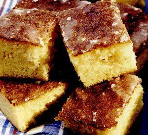 Prăjiturele cu lămâie şi glazură de zahăr
