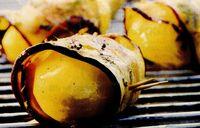 Rulouri de vinete cu cartofi