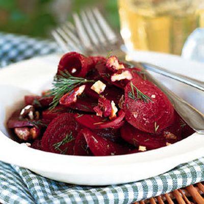 Salata gustoasa de sfecla rosie cu hrean
