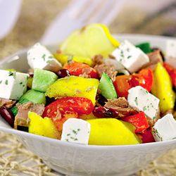 Salata de mango cu ton