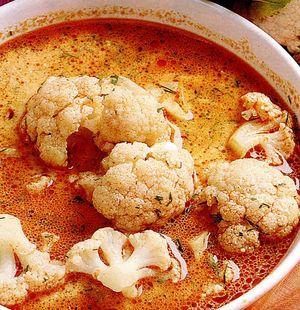 Supă de conopida cu smântână