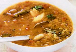 Supa de linte cu piept de pui