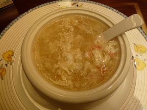 Supă din cuib de pasăre
