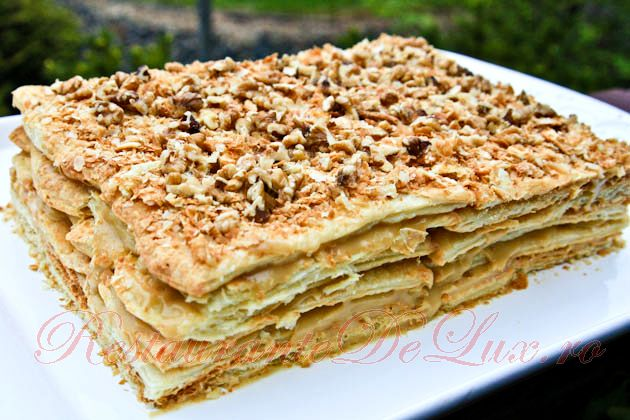Reteta zilei: Tort Napoleon (Mille-feuille)