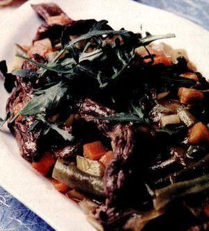 Carne de vită cu legume
