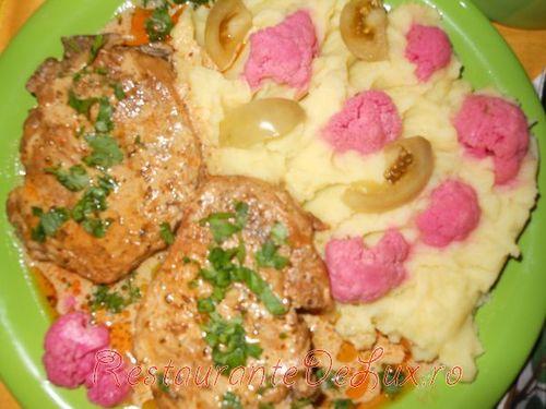 Friptura de porc la tigaie in stil unguresc