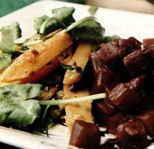 Legume cu salata de sfecla