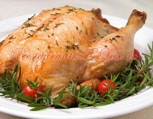 Cinci retete cu pui pentru masa de Paşte