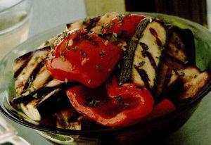Salată de legume la grătar