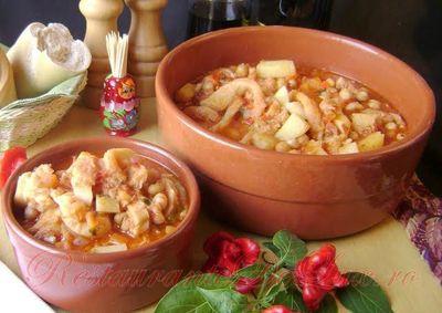Supa de burta cu ghimbir