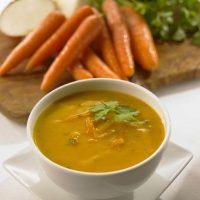 Supa de morcovi cu zarzavat