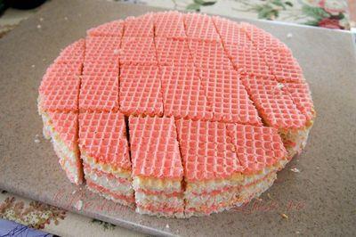 Tort din napolitane