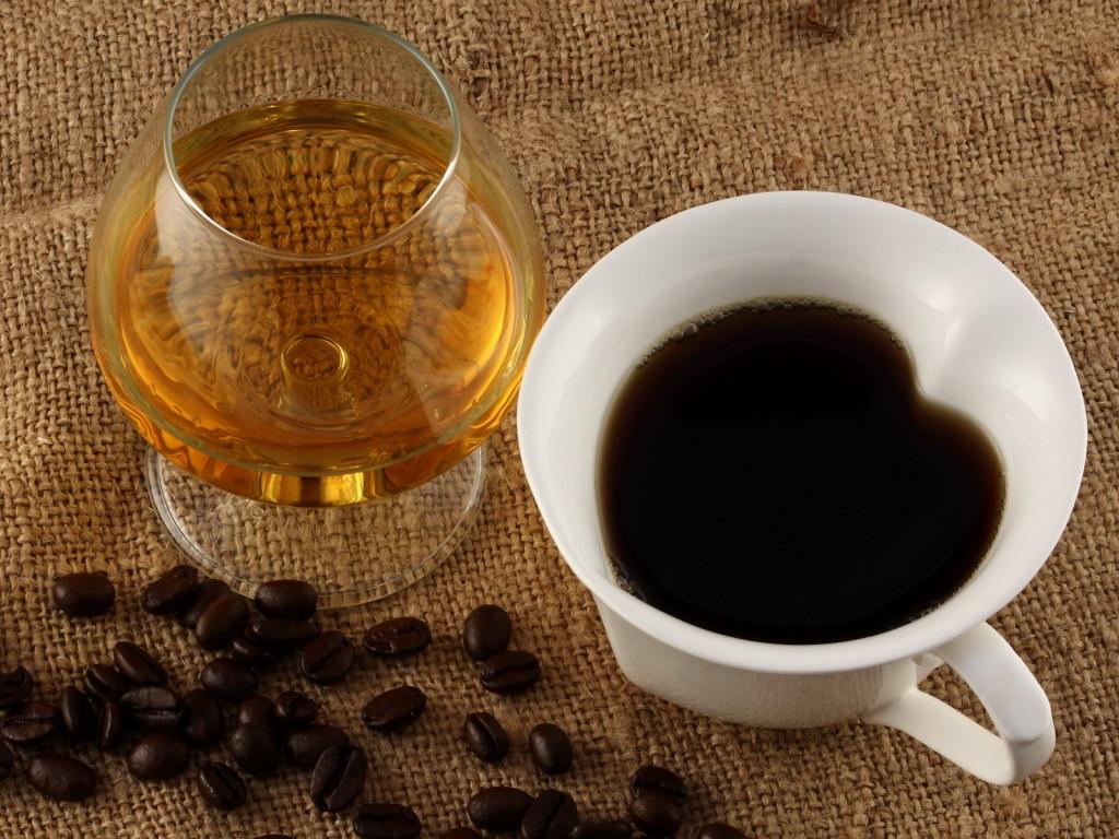 Cafea cu coniac