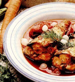 Ciorbă de peşte (macrou)
