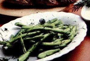 Fasole verde si broccoli la cuptor