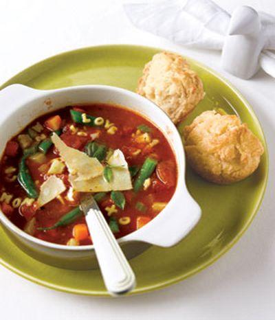Minestrone (supa de legume)