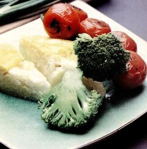 Polenta cu legume