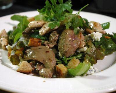 Salata de ceapa cu ficat