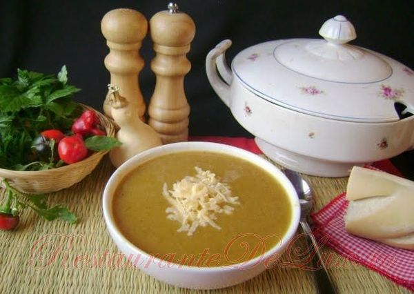 Supa crema de legume asortate