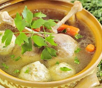 Galuste pentru supe din chifla cu oua