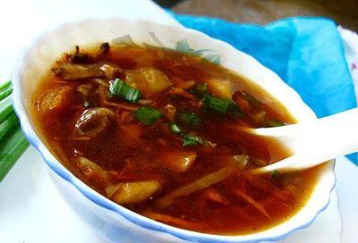 Supă iute-acrişoară