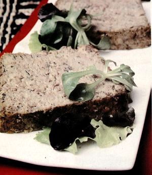 Liver terrine with garlic