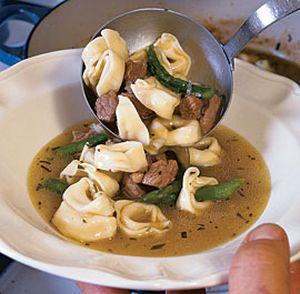 Supa Tortellini in brodo
