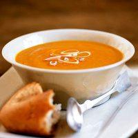 Supa crema de morcovi si rosii