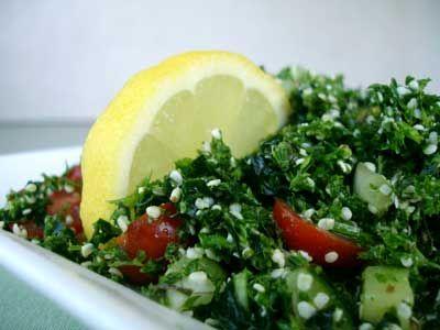 Salata tabbouleh clasica