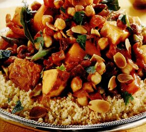 Tajine cu legume în stil marocan