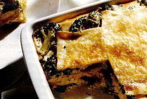 Lasagna cu broccoli
