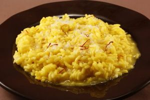 Risotto milanese cu sofran