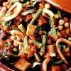 Mâncare_de_fasole_verde_cu_naut_si_carne_de_vitel