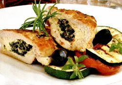 Retete culinare: Piept de pui umplut