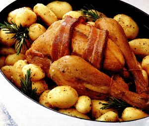 Pui cu cartofi